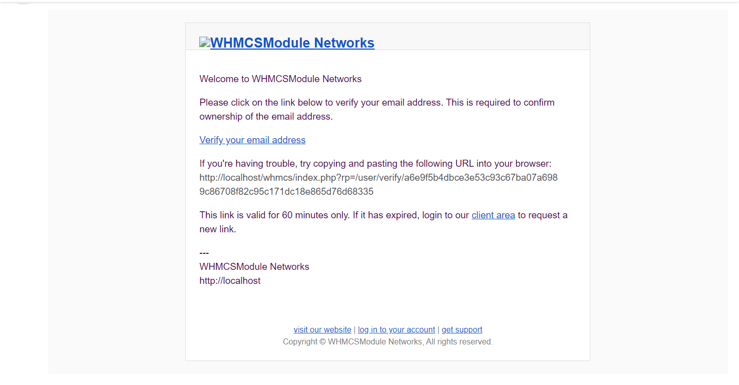 Email Verify Extended Module for WHMCS